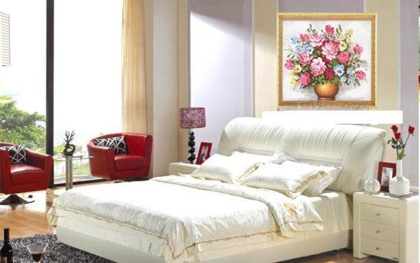 8. Các loại tranh treo được sử dụng trong phòng ngủ