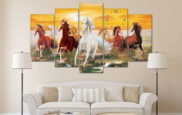 Tranh Canvas ngựa mã đáo thành công