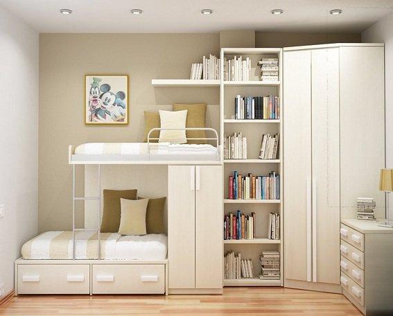 Cách trang trí nội thất bằng sách cực kỳ ấn tượng